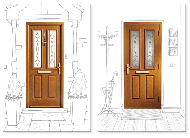Composite Door Colours : Composite doors leicester affordable home improvements