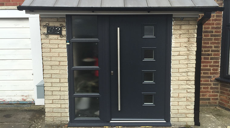 cheap for discount ffa16 ae54a Porch & Composite Door Replacement | Affordable Home ...